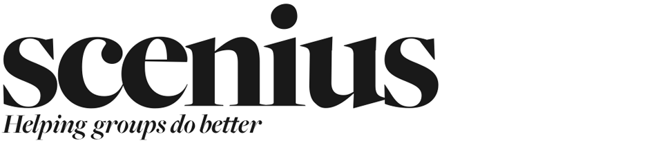 Scenius logo